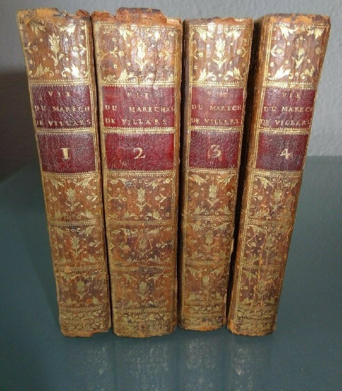 anciens livres memoires du duc de villars