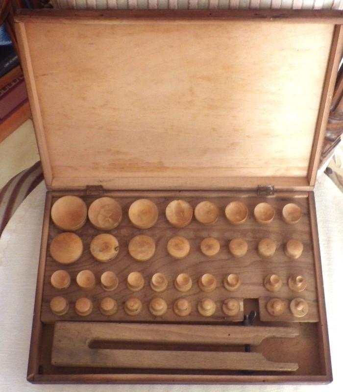anciens outils lunetier vieux métier