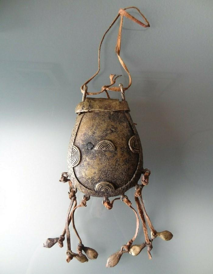 ancien bronze africain cire perdue