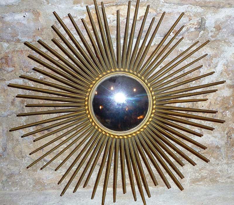 miroir soleil sorcière ancien
